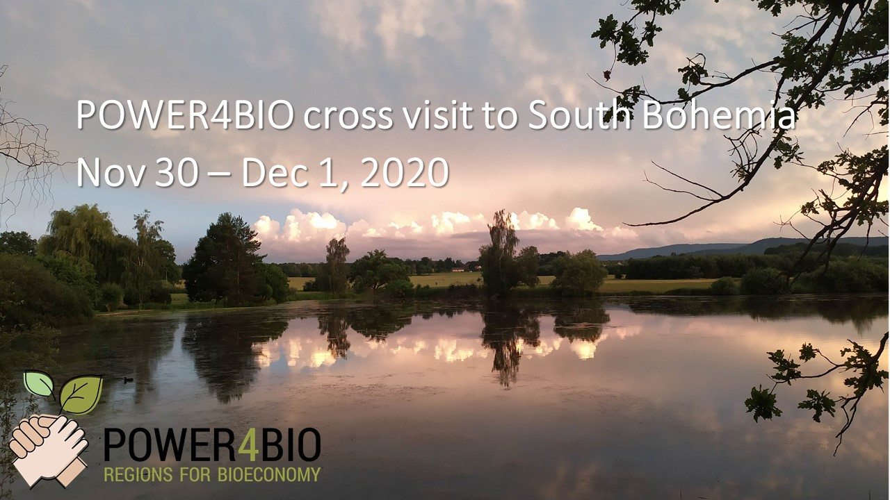 POWER4BIO Cross visit South Bohemia - intro