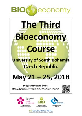 Third Bioeconomy Course 2018 - poster